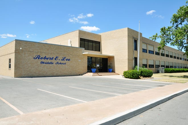 Lee Middle School in San Angelo
