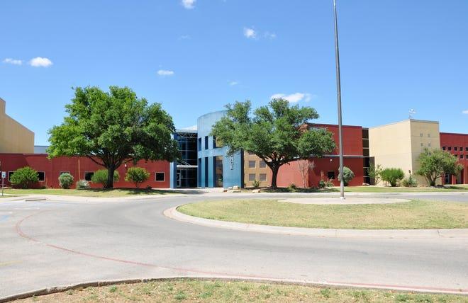 Lake View High School in San Angelo