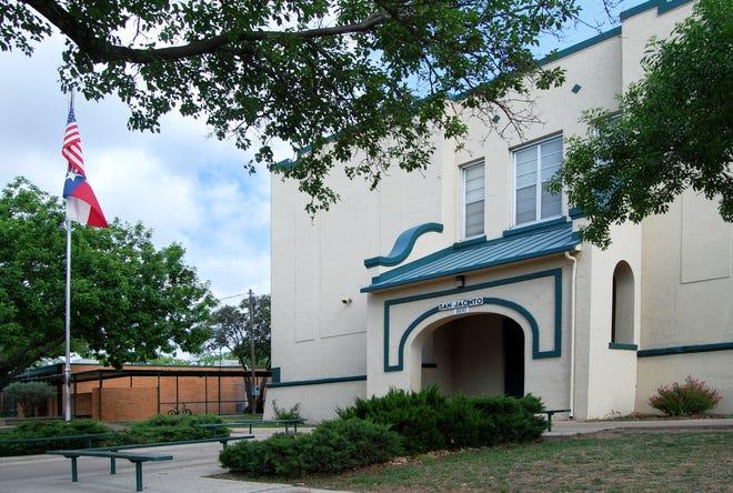 San Jacinto Elementary School in San Angelo