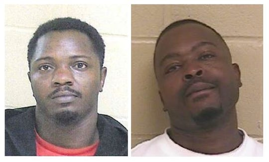 From left to right: Kenyla Alford and Darius Powell.