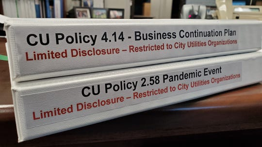 City Utilities enacted parts of its pandemic plan in early March as news of the new coronavirus spread.