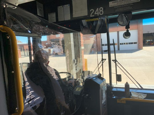 CU recently  installed plastic shields on its transit buses to protect drivers during the ongoing coronavirus pandemic.