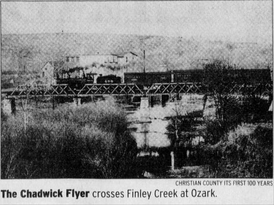 This photo of the Chadwick Flyer once appeared in the News-Leader.