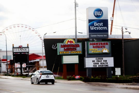 Springtime in Branson usually means business is booming as vacationers visit. Amid the COVID-19 pandemic, little to no traffic is seen along 76 Country Boulevard and in downtown Branson.