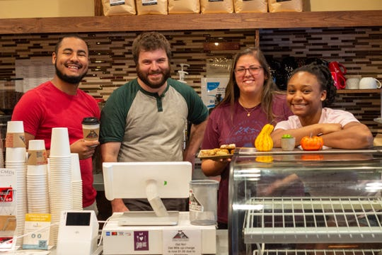 The team at RedEye Coffee will be back in action Monday.