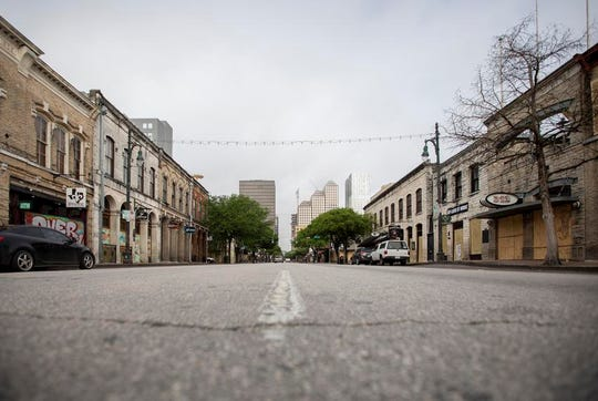 With businesses shuttered in Austin and throughout the state, there is certain to be a massive financial blow to sales tax revenues.