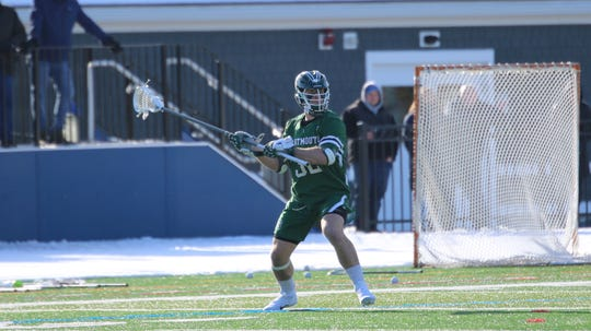 Westlake High graduate James Sullivan's senior season with the Dartmouth men's lacrosse team was cut short by the coronavirus epidemic.