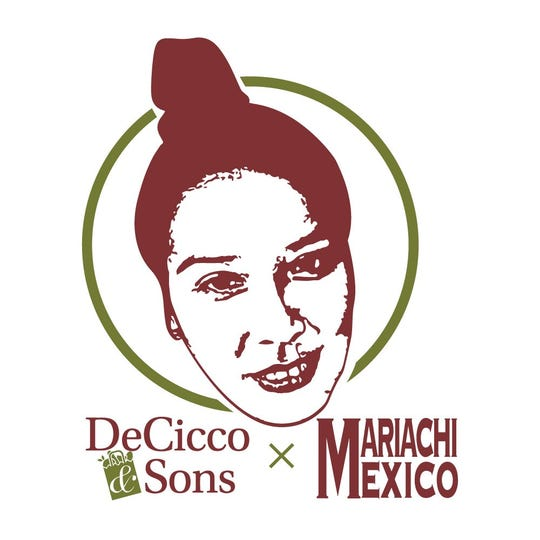 New packaging for the tortilla chip collaboration between Armonk's Mariachi Mexico and DeCicco & Sons.