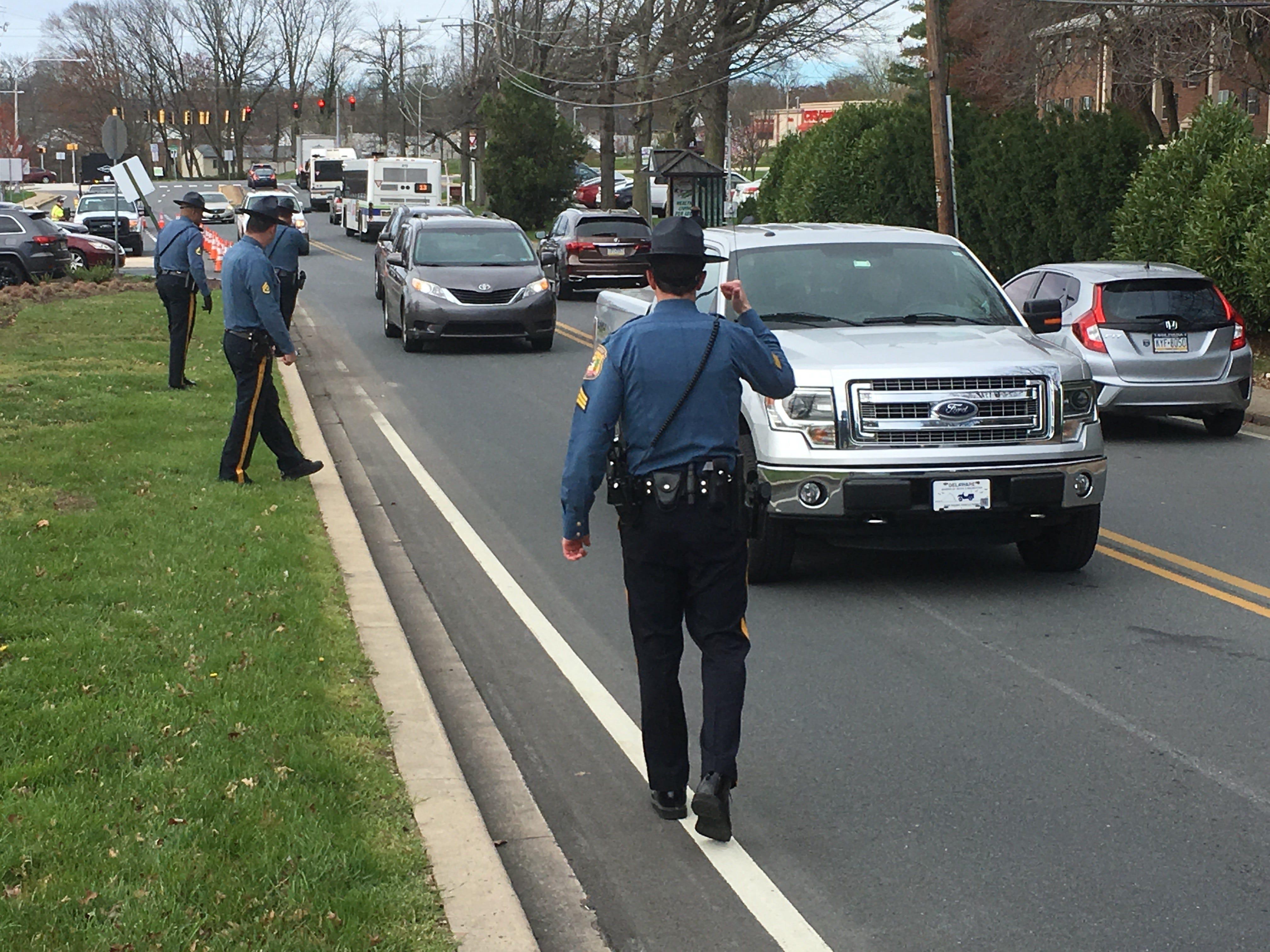 Delaware police stop