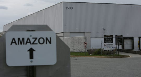 A person connected to Amazon's DPH4 Distribution Center in New Castle recently tested positive for the coronavirus.
