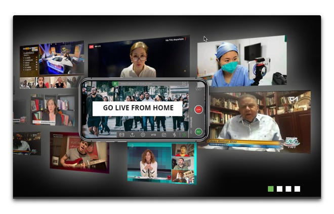 TVU go live from anywhere software