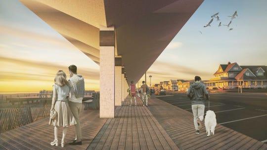 Could giant concrete 'umbrellas' stop a hurricane's storm surge?