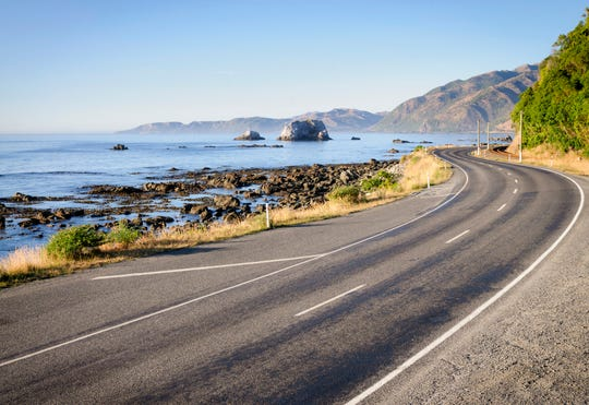 you can drive both New Zealand's north and south islands in their entirety if you plan out an appropriate route and spend at least two weeks.