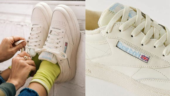 Majorly vintage vibes with these Reeboks.