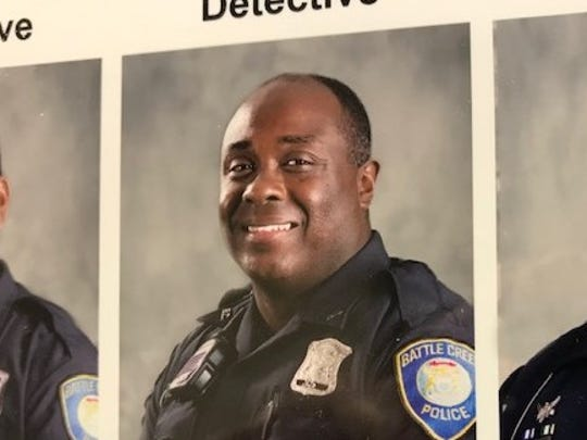 Corporal Kris Brown of the Battle Creek Police Department.  Provided