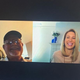 An Instagram post from WDIV (Local 4) weekend sports anchor Jamie Edmonds, right, on a video call with Detroit Tigers manager Ron Gardenhire dated April 4, 2020.