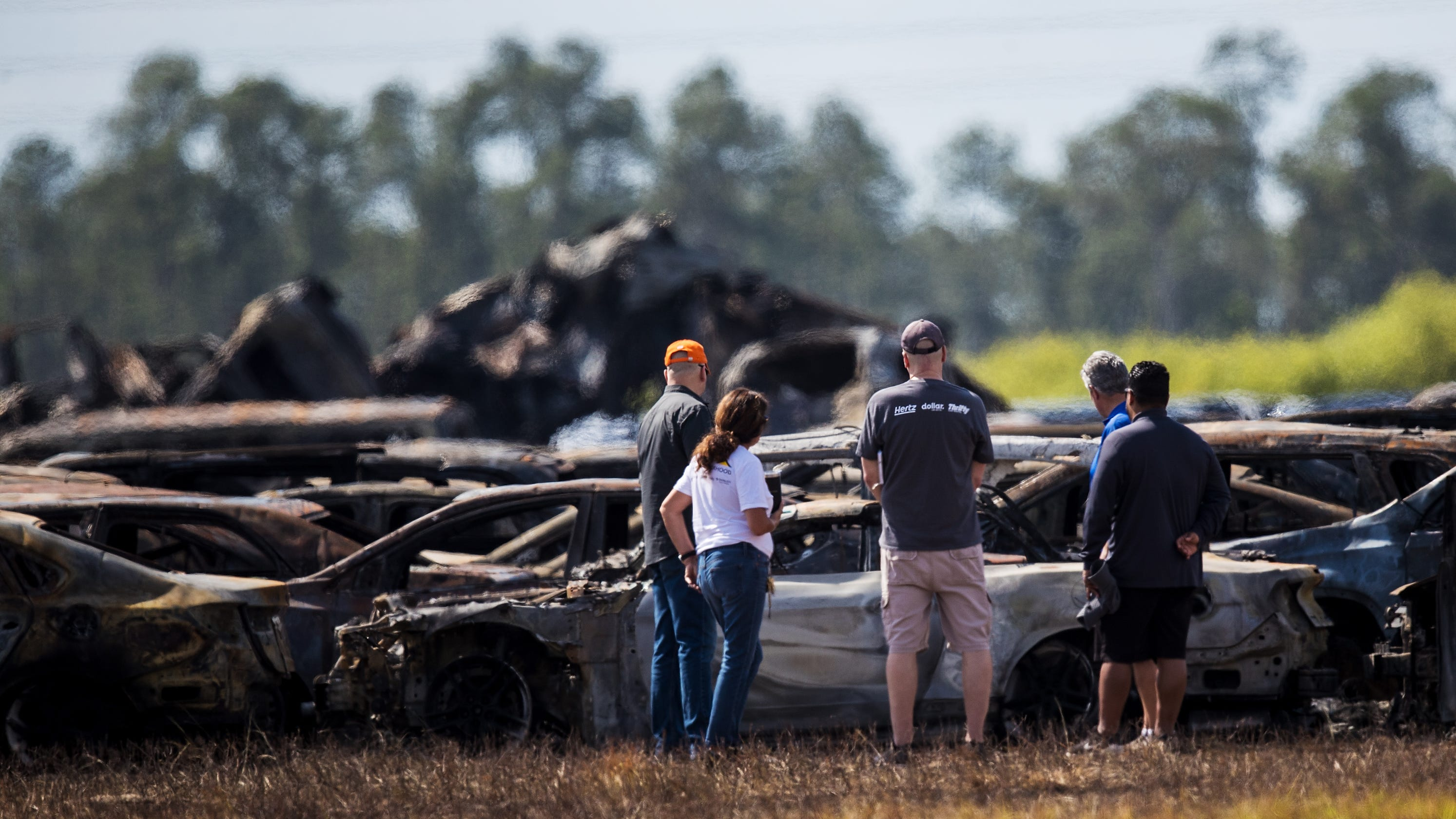 Fire next to Southwest Florida International Airport contained