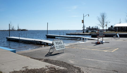 The City of Oconto on Friday closed the boat launches at the harbor (above) and the City Docks, out of concern over the number of visitors from out of the region coming to fish.
