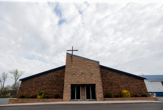 Maryville Baptist Church pastor Jack Roberts is planning to have services at the church on Sunday. April 4, 2020.