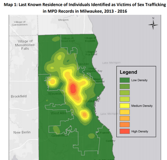 This isn't just a Milwaukee issue': New report examines where sex trafficking happens and where victims are from