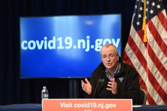 Gov Murphy's daily presser regarding covid-19.