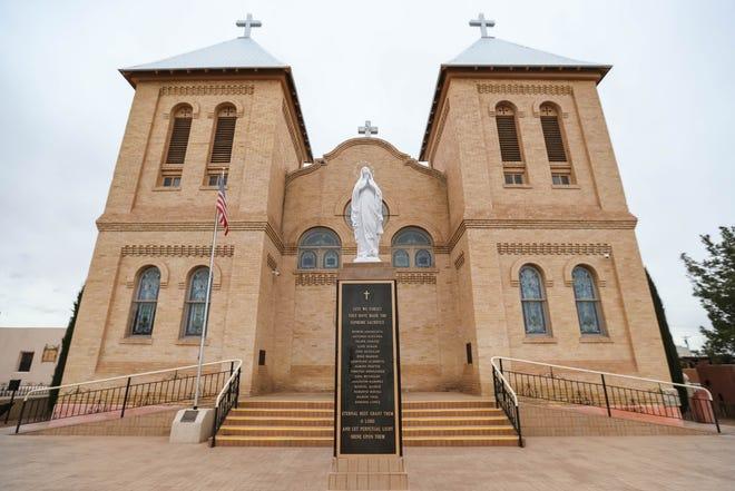 Basilica San Albino Catholic Church in Mesilla, N.M.