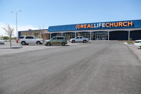 Real Life Church is pictured in Las Cruces on Saturday, April 4, 2020.