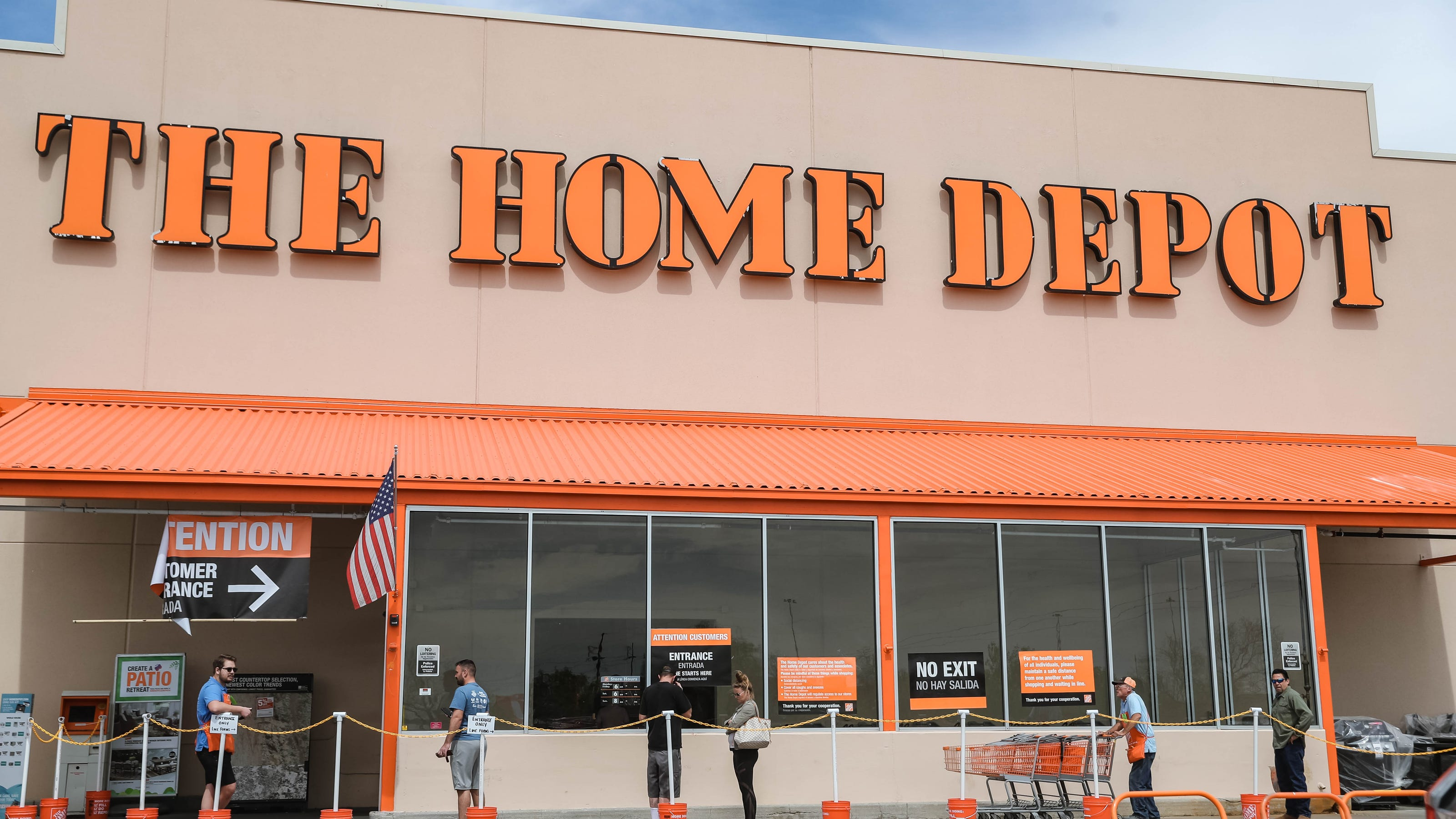 Home Depot Adds Decor Online Furniture Linen Wine Glasses Available