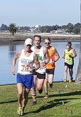 Hopewell Junction resident Kevin Dollard racing out in San Diego