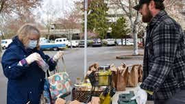 Shoppers attend Salem Saturday Market