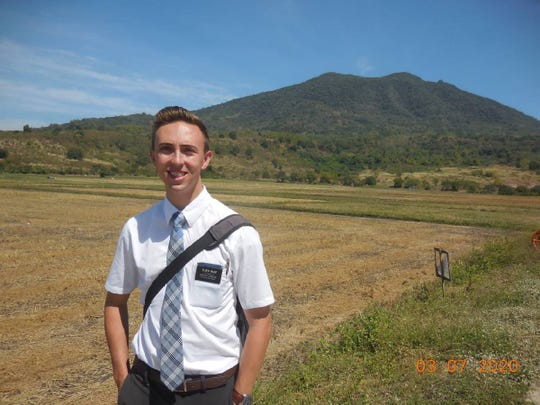 Mitchell Wade was serving in the Philippines as a missionary for the Church of Jesus Christ of Latter-day Saints when he found out he had to return home due to the coronavirus pandemic.