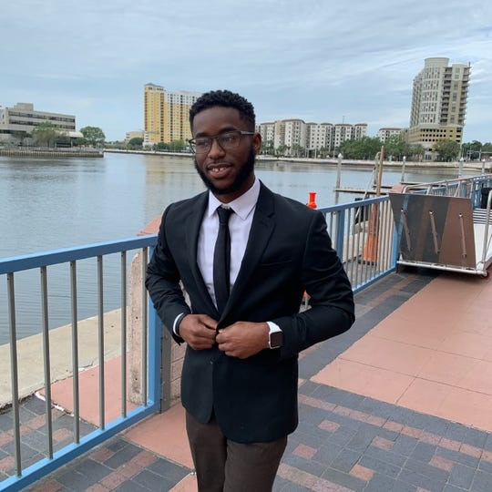 Micah Mitchell, recently elected SGA President at Tallahassee Community College
