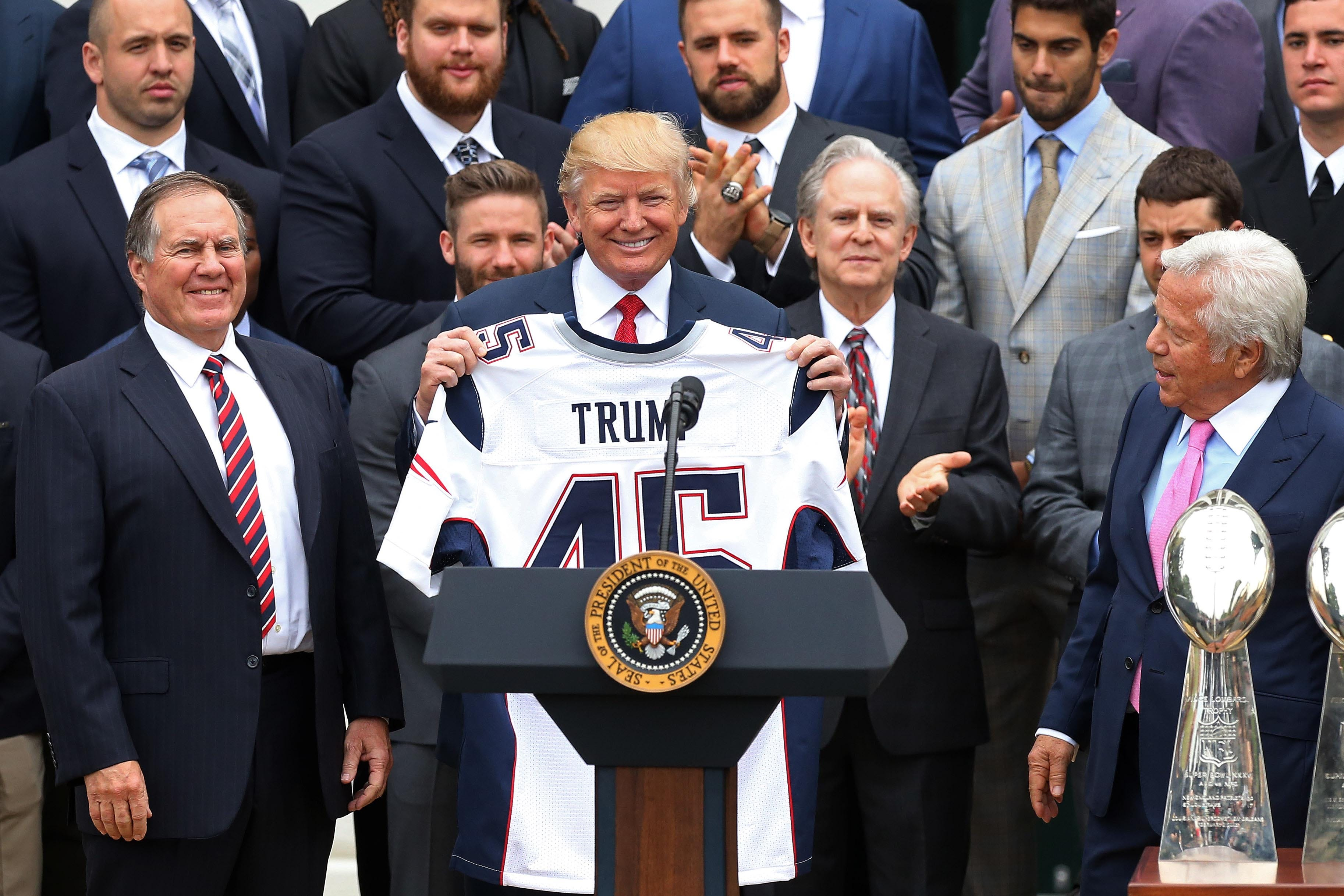 President Donald Trump would rather NFL not play if players kneel during anthem
