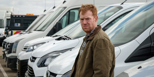 "Kris Hitchen stars as a delivery driver struggling to keep his family afloat in ""Sorry We Missed You."""