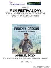 """Film Festival Day on April 11, 2020, will include a virtual group screening of """"Phoenix, Oregon."""""""