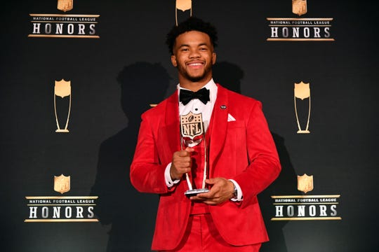 One radio host says that the Arizona Cardinals' Kyler Murray is much more than the reigning AP Offensive Rookie of the Year in the NFL. He says the quarterback is the best athlete in the world.