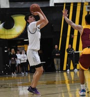 Andrew Wilson had a big senior season on the basketball court at Newbury Park High, while also being part of the U.S. Soccer Development Academy.