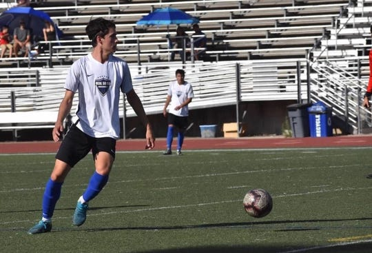 Newbury Park's Andrew Wilson plays for the elite Real SoCal club team and is part of the U.S. Soccer Development Academy. He also starred on the basketball court for the Panthers.