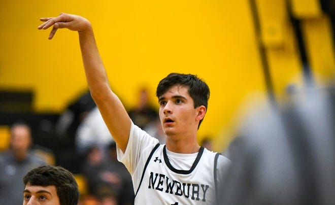 Andrew Wilson averaged 17 points and hit 61 3-pointers in his final season at Newbury Park High. Wilson is also a standout soccer player who has a scholarship to UC San Diego.
