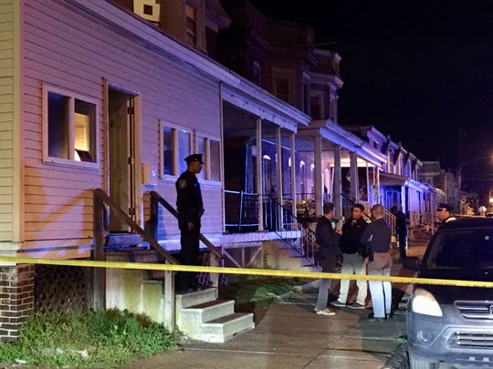 Wilmington Police investigate a shooting Saturday night in the unit block of W.27th St.