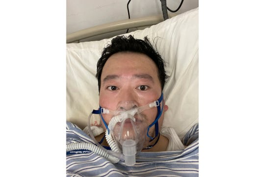 Dr. Li Wenliang, who was a doctor at Wuhan Central Hospital, died of COVID-19 on Feb. 7, 2020. He is credited for trying to warn colleagues of the possibility of an outbreak before it started. He was 33.
