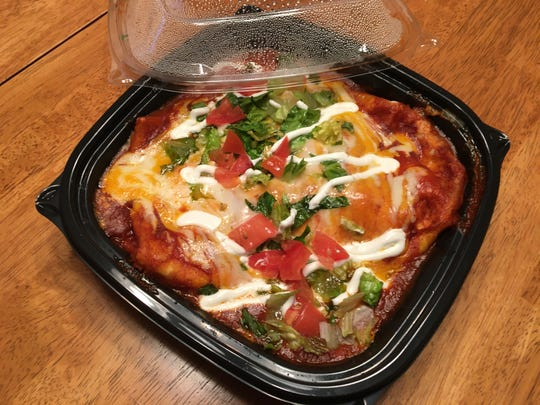 There's more than just pizza available for takeout at Pennfield Pizza as the Giant Wet Burrito is good option to bring home.