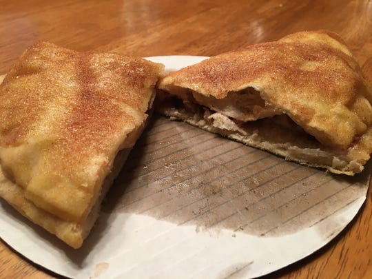 Add a little sweet to your takeout order with a Cheesecake Calzone at Pennfield Pizza.