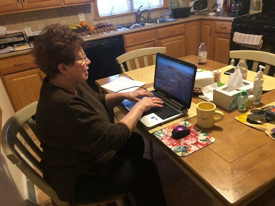 Barb Ripic is a receptionist at the Mercy House of the Southern Tier and started volunteering soon after Mercy House opened in March of 2016.  She also helps type the thank-you letters to donors.