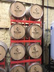 James Warren, head distiller at Wild Horse Distillery in Kingsville, readies the distillery April, 6, 2020 to make sanitizer.