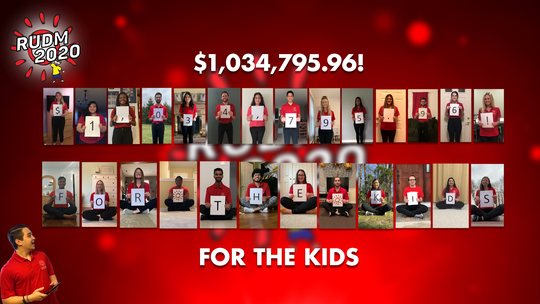 Rutgers University Dance Marathon raised more than $1 million with an online version of its annual fundraiser for New Brunswick-based Embrace Kids Foundation. The total is only $86,000 less than last year's fundraising record.