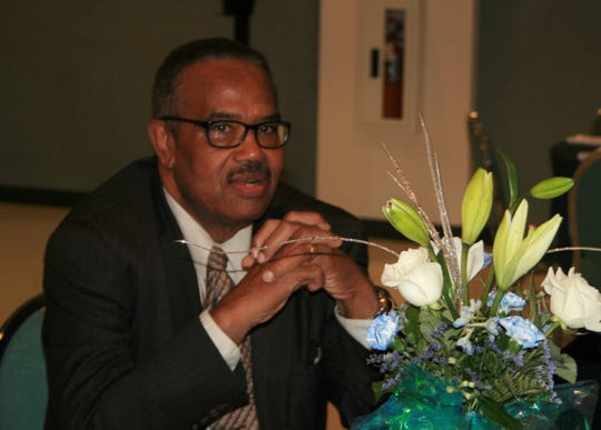 Richard Barber at the 2013 Freedom Fund Luncheon at First Baptist Church of Lincoln Gardens.