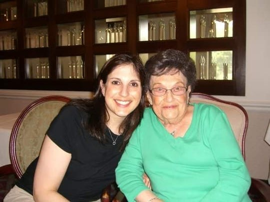 Micki Rubinstein and her late-grandmother Dorothy Lynn