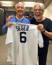Al Kaline and Bob Seger.