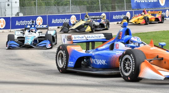 The Detroit Grand Prix scheduled for next month was canceled Monday.